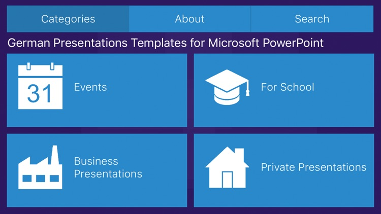 German Templates for Microsoft PowerPoint Ed. 2017