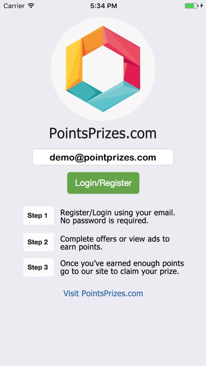 PointsPrizes - Free Gift Cards