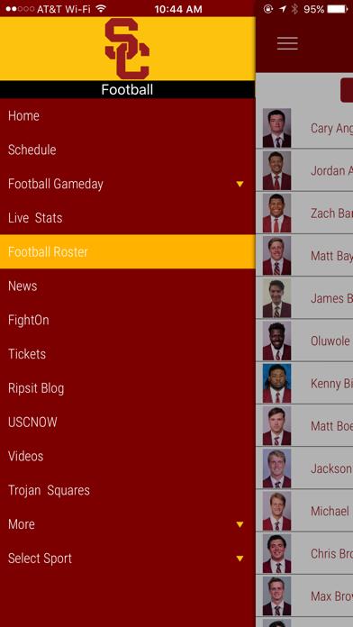 USC Trojans Gameday App screenshot three