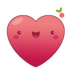 HeartMoji by Mojiberry