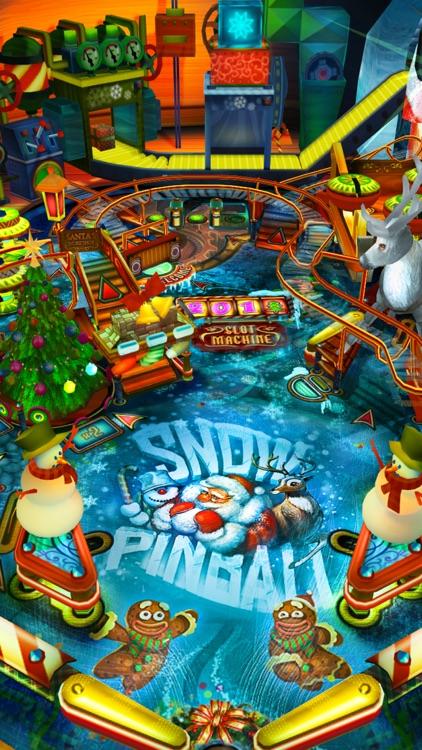 Snow Pinball: Santa's Christmas Factory!