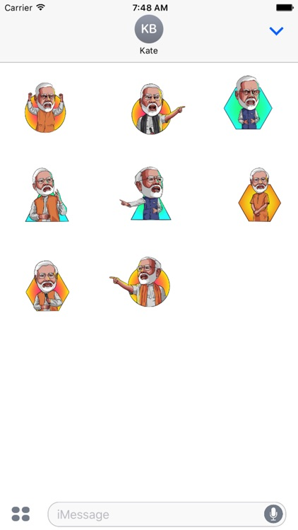 Narendra Modi Stickers