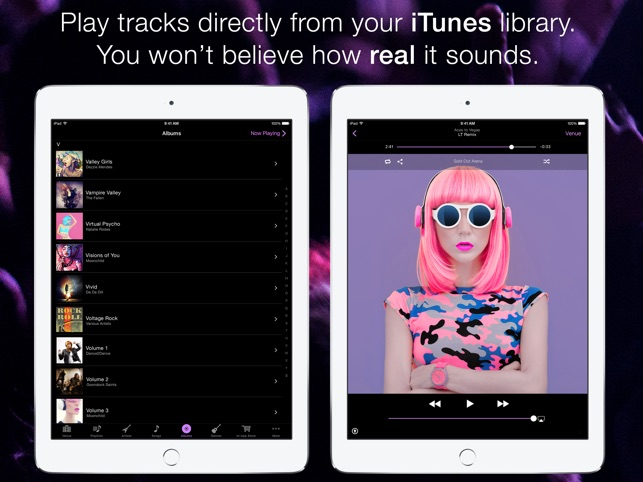 LiveTunes: LIVE Music Player Screenshot