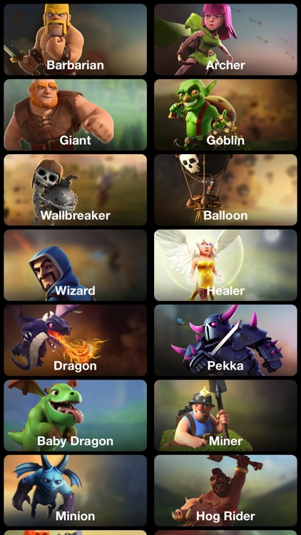 Gems Guide for Clash of Clans.