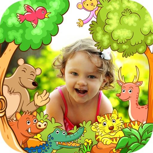 Insta Kids Frame iOS App
