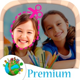 Cut & paste photo editor - create stickers PRO