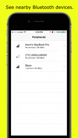 Blue Sniff - Simple Bluetooth Detector on the App Store