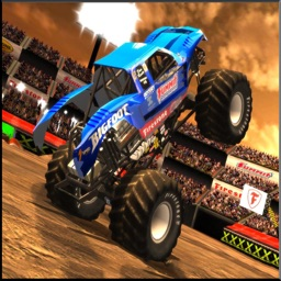 Monster Truck Hill Climb Race 2