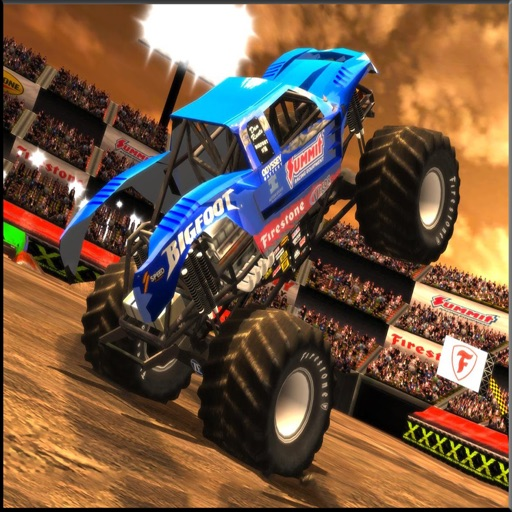 Monster Truck Hill Climb Race 2