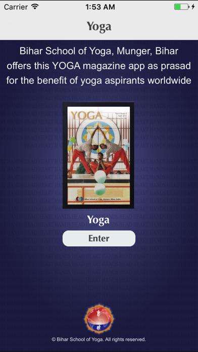YOGA Magazine screenshot one