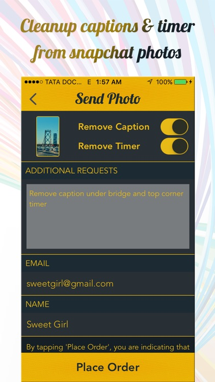 Clean Caption Pro for Snapchat Photos screenshot-4