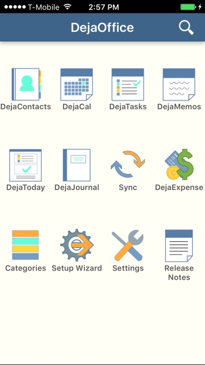 DejaOffice CRM with PC Sync