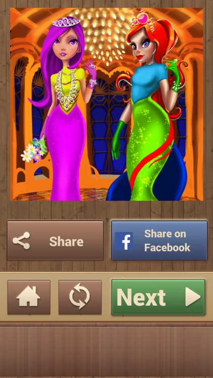 Princess Jigsaw Puzzles screenshot-4