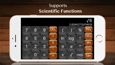 Calculator plus HD : Scientific App Calculatorのおすすめ画像3