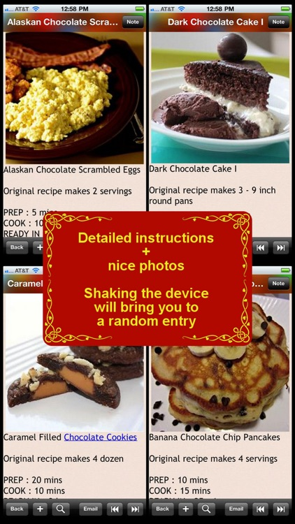 All Chocolate Recipes