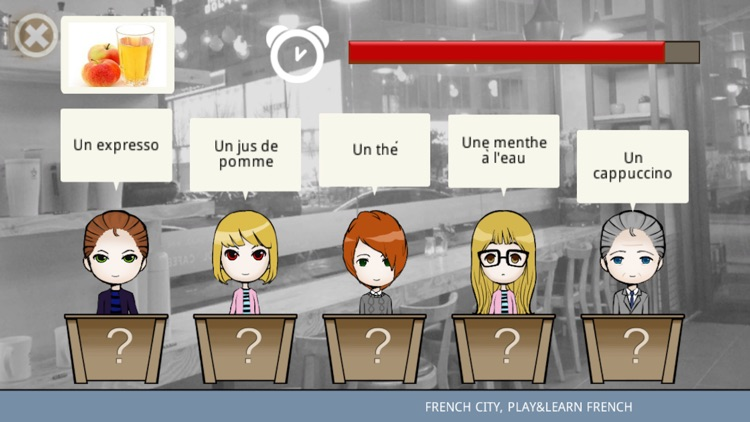 French city, play&learn French screenshot-3