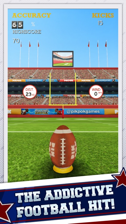 Flick Kick Field Goal screenshot-0