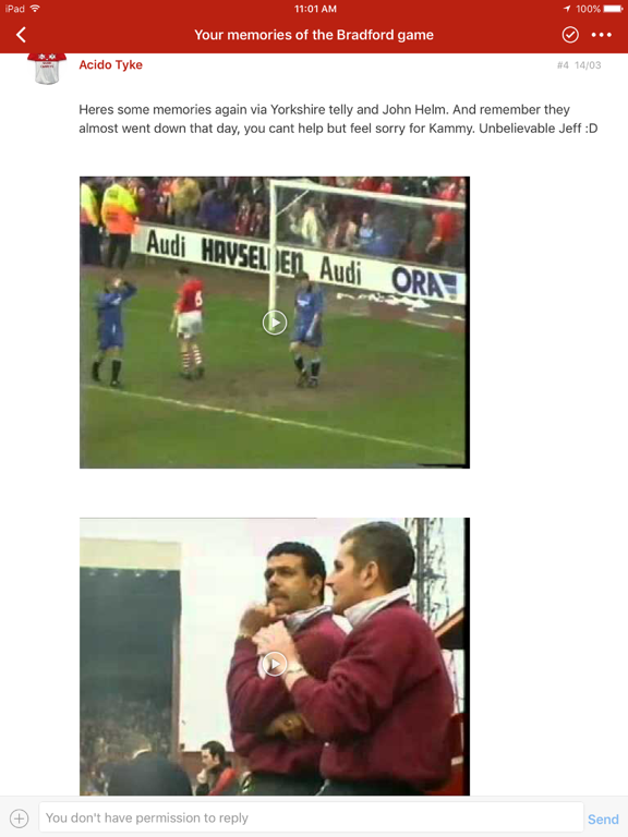 Barnsley FC BBS Fans Forum screenshot 7
