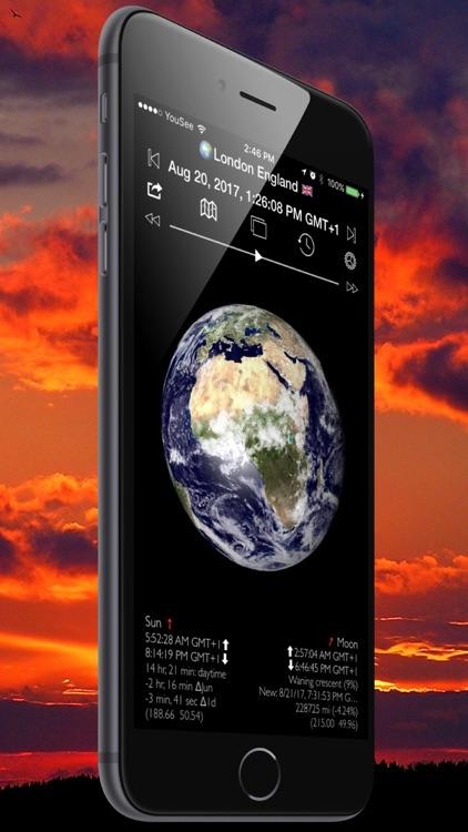 Sun and Moon Tracker 3D Pro screenshot-3