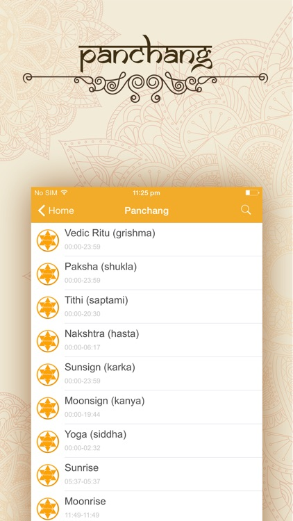 Hindu Calendar. screenshot-1