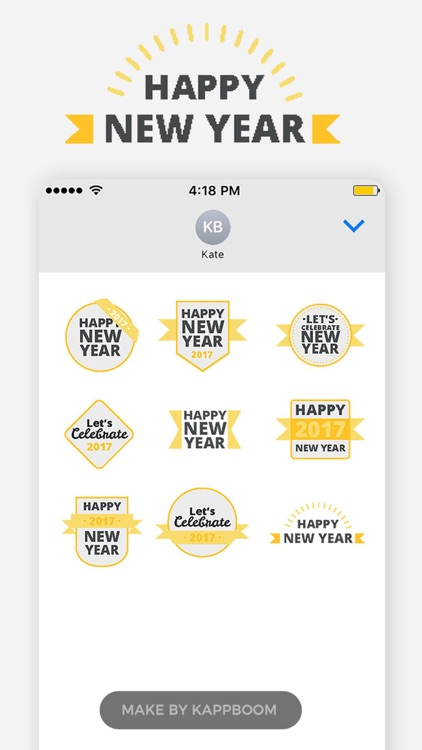 New Year Messages Stickers screenshot-4
