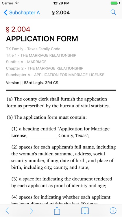 Texas Family Code (LawStack's TX Law/Statutes)