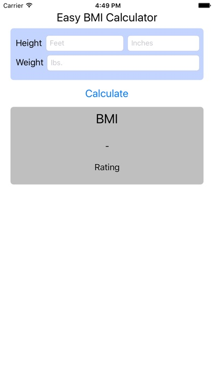 BMI Calculator - Find Your Body Mass Index screenshot-4