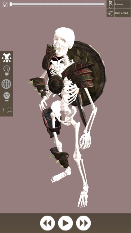 3D Pose Drawing : Fantasy Skeleton Warrior