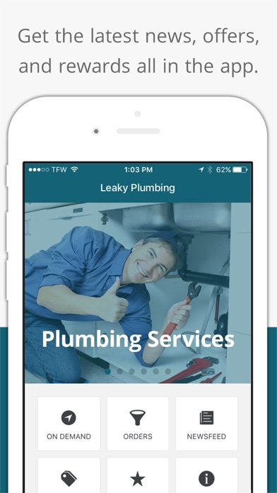 Leaky Plumbing app image