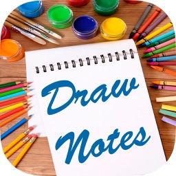 Draw notes - paint on photos to create art