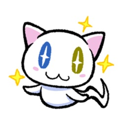 Cute Ghost Cat Stickers Pack