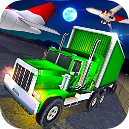 Airport Airplane Cargo Truck Parking Simulator 3D