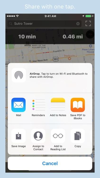 RouteBreak: Fast GPS Navigation for Drive & Walk screenshot-4