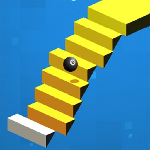 Stairs Rolling Ball iOS App