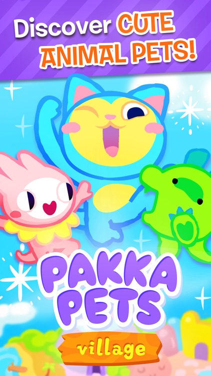 Pakka Pets Village - Build a Cute Virtual Pet Town screenshot-0