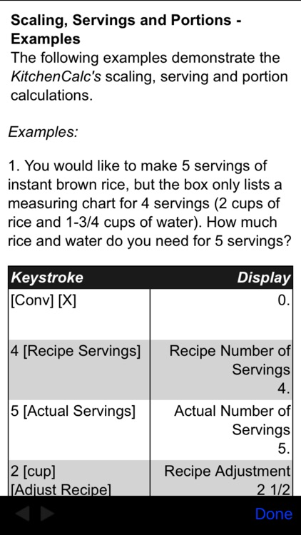 KitchenCalc Pro Culinary Math & Recipe Calculator screenshot-4