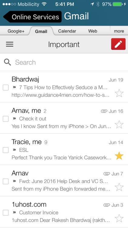 Cloud - Mail for GoogleDrive,Dropbox,Box,Onedrive screenshot-4