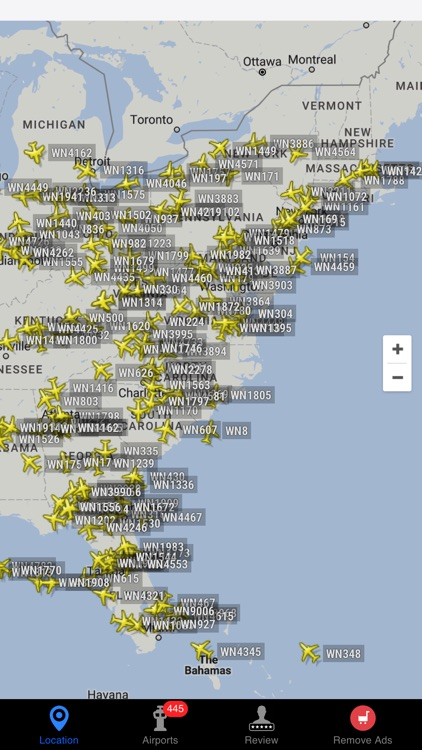 Air Tracker For Southwest Airlines screenshot-1