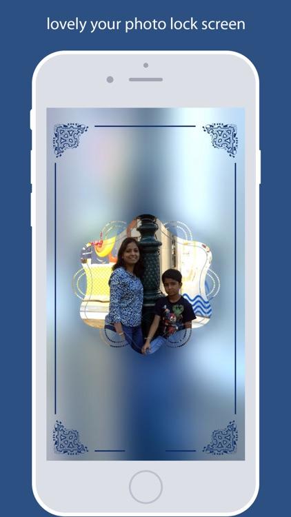 Photo Lock Screen Design - Lovely Photos Screens
