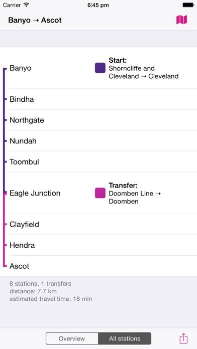 布里斯班鐵路圖 Lite屏幕截圖4