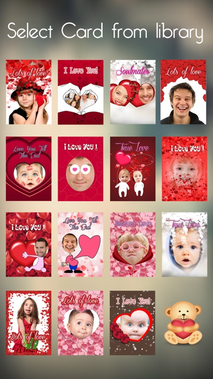 Valentine's Day - Personalised Love Cards Maker screenshot-0
