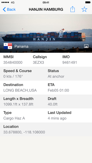 Ship Finder Screenshot