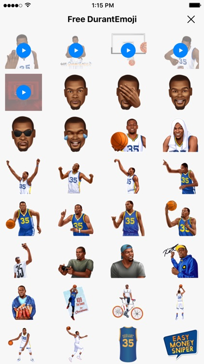 DurantEmoji by Kevin Durant