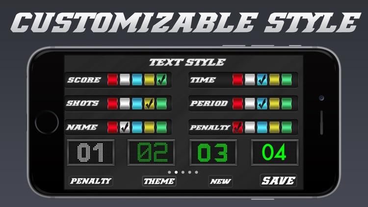 Hockey Scoreboard - Universal Hockey Scorekeeping screenshot-3
