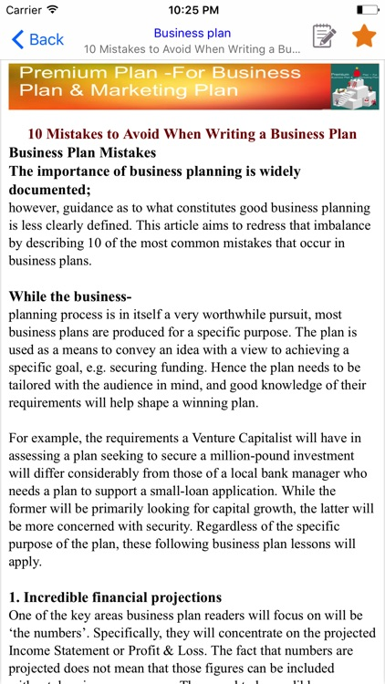 Premium Plan -For Business Plan & Marketing Plan screenshot-3