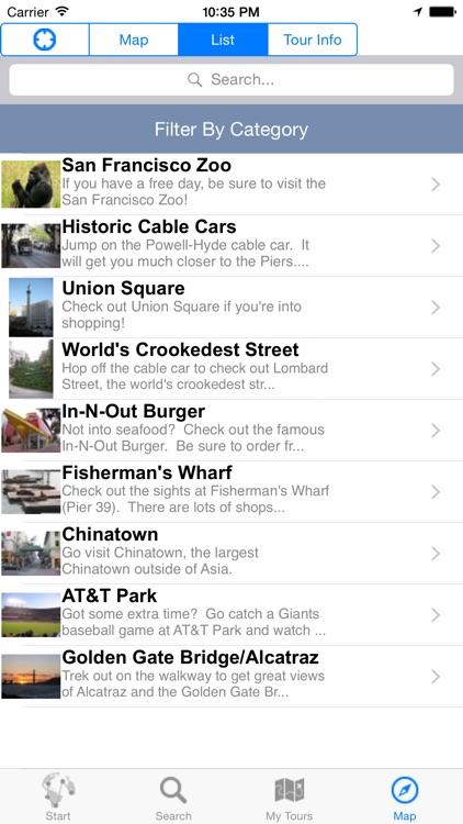 GeoTour: GPS Tour Guide