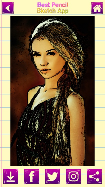 Best Pencil Sketch App Portrait & Draw.ing Filters screenshot-4