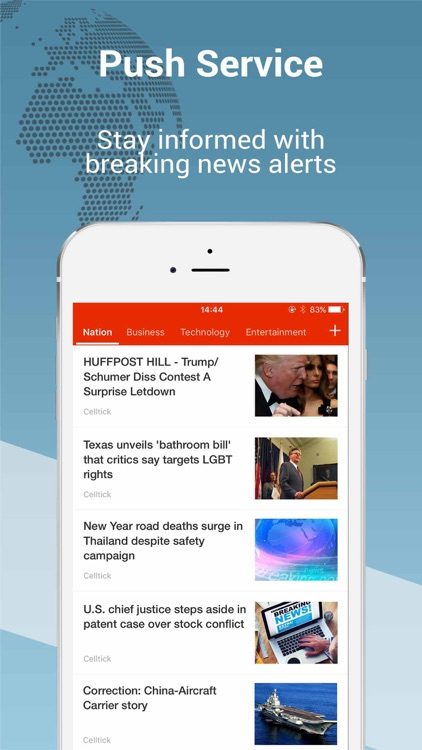 Top Story Pro: breaking news of the world