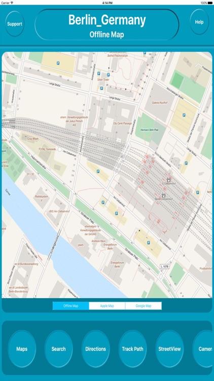 Berlin Germany Offline Map Navigation GUIDE