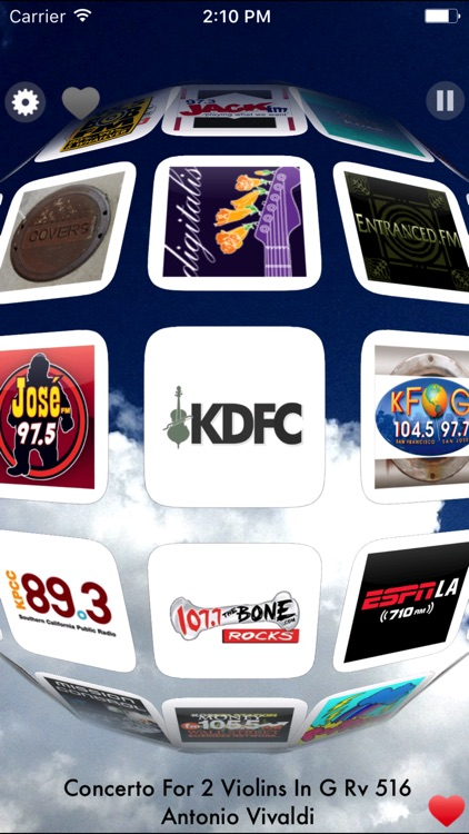 Radio Cloud - Stream Live Music Radio